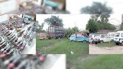 پشاور، مسروقہ گاڑیاں اونے پونے داموں خرید کر سپئر پارٹس کی شکل میں فروخت کرنے والے ملزمان گرفتار، مسروقہ گاڑی برآمد