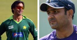 سہواگ کو راولپنڈی ایکسپریس سے ٹکرانا مہنگا پڑ گیا ، شعیب اختر نے بے عزتی کی ایسی تیز ترین گیند کروائی کہ سہواگ کے سر کے بال تک اڑ گئے