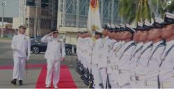 امیر البحر ایڈمرل ظفر محمود عباسی کا برونائی کے دورہ کے دوران اعلی عسکری قیادت سے ملاقات،