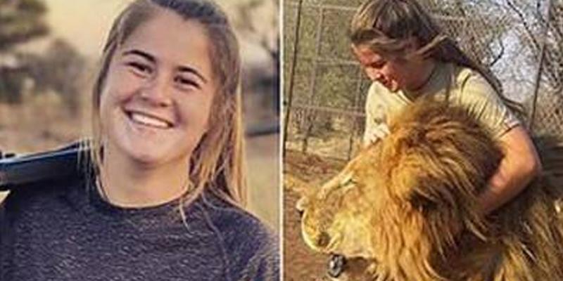 شیروں کی دیکھ بحال پر مامور لڑکی شیر کے حملے میں ہلاک