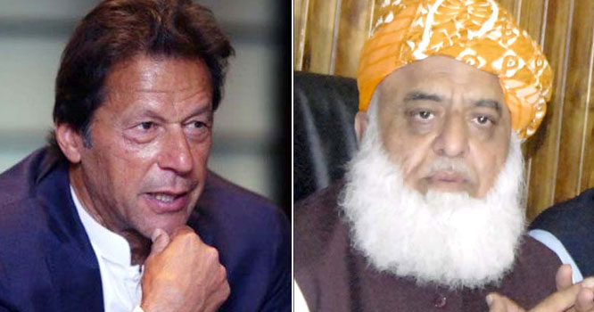 مولانا فضل الرحمان عمران خان سے محاذ آرائی میں بہت آگے نکل چکے، شاہین صہبائی