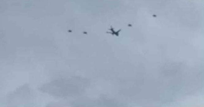 دوممالک کے لڑاکاطیاروں نے پی آئی اے کے طیارے کو گھیرے میں لے لیا