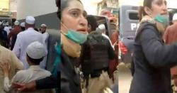نماز جمعہ پر پابندی، سینکڑوںشہریوںکا منع کرنے پر خاتون پولیس افسر پر حملہ،صورتحال کشیدہ