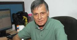 سینئرصحافی احفاظ الرحمان انتقال کرگئے