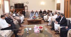 (ن) لیگ ملک و قوم کے بہترین مفاد میں کچھ وقت کیلئے اپنی منفی سیاست کو قرنطینہ کر لے 'ہمایوں اختر خان
