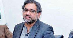 اسلام آباد،  موجودہ حکومت نے 5 سال پورے کئے تو قرضے دوگنے ہو جائیں گے ، شاہد خاقان عباسی