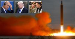 پاکستان کا وہ انتہائی خوفناک ایٹمی میزائل جس کی رفتار آواز سے بھی 18گنا تیز ہے، جانتے ہیں اس میزائل کے خوف سے اسرائیل بھاگا بھاگا کیوں امریکہ