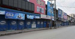 خیبر پختونخوا حکومت نے تین دن کےلئے دوکانیں دوبارہ بند کرنے کا فیصلہ کر لیا