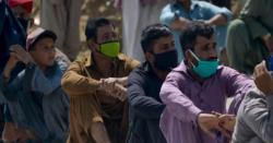 کراچی کے ہسپتالوں میں کرونا وائر س کے مریضوں کا رش
