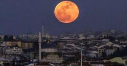 رواں سال کا تیسرا چاند گرہن،آج کس وقت چاند کو گرہن لگا؟دورانیہ کتناہوتھا؟