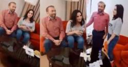 فاروق ستار اور حریم شاہ۔۔۔۔۔   ایم کیوایم رہنما  اور حریم شاہ کی ویڈیو منظرعام پر آگئی