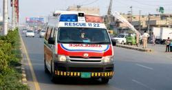 نواب شاہ:  ٹریفک حادثہ میں   6 افراد جاں بحق، 30 زخمی