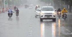 شہرقائدمیں بارش پھرشروع ،متعددعلاقوں میں بجلی غائب، ٹریفک روانی شدید متاثر