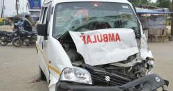 میت لےجانیوالی ایمبولینس کوحادثہ،کتنے افرادجان کی بازی ہارگئے،پنجاب کے بڑے شہرسے انتہائی افسوسناک خبرآگئی