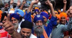 سکھ آج بھارت کا یوم آزادی نہیں منائیں گے، گھروں سے بھارتی پرچم اتار دیے گئے