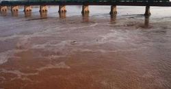 پاکستان کے اہم دریا میںطغیانی، الرٹ جاری نہ کرنے کی وجہ  سے ہزاروںایکڑ پر تیار فصلیںبہہ گئیں، بھاری نقصان کی اطلاعات