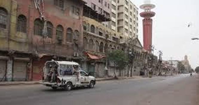 پشاور کے کئی علاقوں میں دوبارہ لاک ڈائون لگا دیا گیا