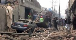 گوجرانوالہ دھماکے سے گونج اٹھا،کئی قیمتی جانیں چلی گئیں،افسوسناک خبر