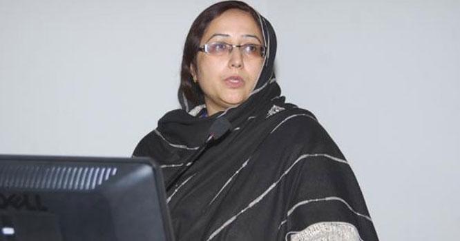 اعلی تعلیمی کمیشن (ایچ ای سی ) کی سابقہ ڈائریکٹر جنرل کا سرکاری مکان پر قبضہ