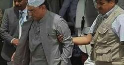 سابق صدر آصف علی زرداری کی طبیعت خراب ہو گئی،ہسپتال منتقل
