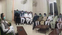 قائد مسلم کانفرنس سردار عتیق احمد خان کا دھیر کوٹ ڈھیر سکندر آباد کا دورہ