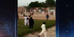 فیصل آباد میں کبڈی کا اکھاڑہ میدان جنگ بن گیا