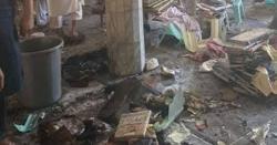 پشاور سے انتہائی افسوسناک خبر۔۔مدرسے میں دھماکہ،متعدد بچے شہید،70سے زائد زخمی ہو گئے