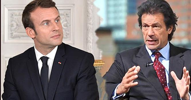 فرانسیسی صدر کا اسلام مخالف بیان   وزیر اعظم عمران خان بھی شدید جلال میں آگئے