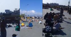 اسلام آباد کے داخلی راستے بند، فیض آباد میں صورتحال کشیدہ