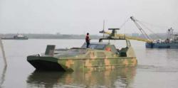 چین نے خشکی اور پانی میں چلنے والی خودکار فوجی گاڑی متعارف کرا دی