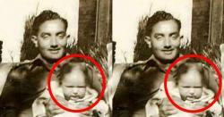 نشان حیدر میجر عزیز بھٹی شہید کی گود میں موجود بچہ پاکستان کا انتہائی نامور اور دنیا کا انتہائی طاقتور ترین شخص ہے ، جانتے ہیں یہ بچہ کون ہے