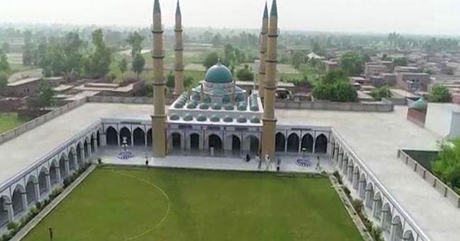 صوفیہ ترکی کی طرز پر کروڑوں کی لاگت سے شاندار مسجد پاکستان کے کس شہر میں تعمیر کی گئی۔۔