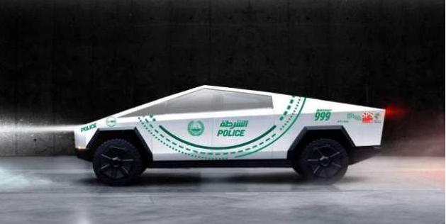 ٹیسلا کا سائبر ٹرک جلد ہی دوبئی پولیس کے بیڑے میں شامل ہو گا