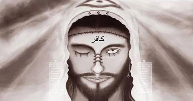 نبی کریم ﷺ نے خواب میں دیکھا کہ ''دجال '' خانہ کعبہ کا طواف کررہا ہے ، دجال کا چہرہ ہو بہو کس شخص سے ملتا جلتا تھا ؟