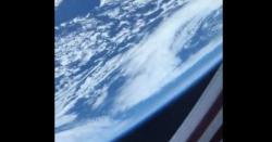 خلا سے زمین کا حیرت انگیز نظارہ۔۔ ویڈیو دیکھ کر ہر کوئی سحر میںگرفتار کرہوجائے، آپ بھی ویڈیو دیکھیں