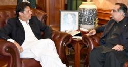 وزیر اعظم عمران خان سے گورنر سندھ عمران اسماعیل کی ملاقات