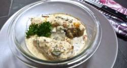 چکن ودھ کریم کوکونٹ بنانے کی ترکیب