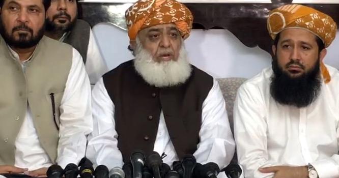 مولانا فضل الرحمان کا پشتونوں کیلئے انتہائی غلیظ لفظ کا استعمال