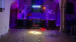 اسیکس میں نیوایئر کی غیر قانونی پارٹی 500 سالہ قدیم چرچ تباہ