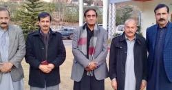 پاکستان پیپلز پارٹی آزاد کشمیر کے صدر چوہدری لطیف اکبر سے صاحبزادہ اشفاق ظفر ایڈوکیٹ کی اہم ملاقات
