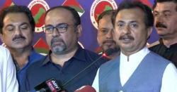 پی ٹی آئی رہنما حلیم عادل شیخ نے سندھ اسمبلی کےپارلیمانی لیڈر کے عہدے سے استعفیٰ دے دیا