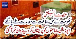 سینیٹ الیکشن ،حکومت کے ق لیگ سے معاملات طے پاگئے