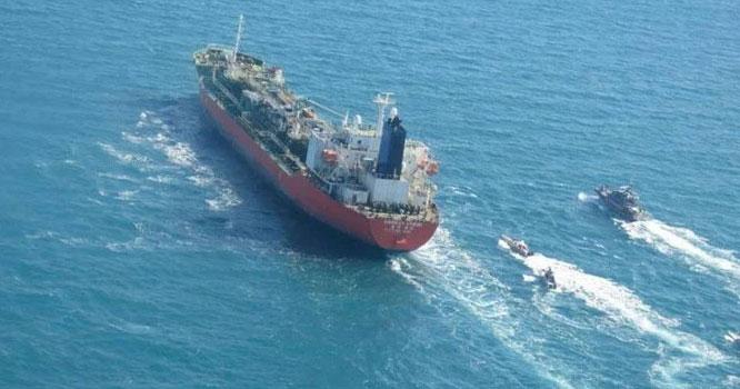 ایران نے جنوبی کوریا کا تجارتی جہاز اغوا کر لیا