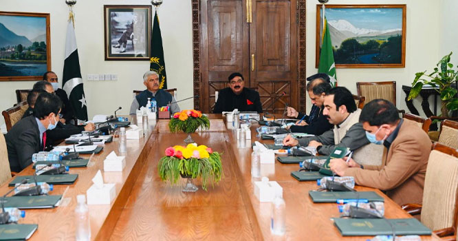 وفاقی وزیر داخلہ اور وزیر اعلی خیبرپختونخوا کی زیرصدارت امن وامان سے متعلق اہم اجلاس