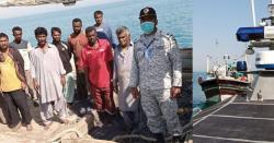 پاکستان میری ٹائم سیکورٹی ایجنسی نے اورماڑہ کے کھلے سمندر میں کامیاب سرچ اینڈ رسکیو آپریشن میں 65 قیمتی زندگیاں بچا لی۔