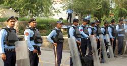اسلام آبا د پولیس کی بڑی کاروائی ۔۔ مختلف وارداتوں میں مطلوب خطرناک پانچ رکنی افغانی گینگ گرفتار