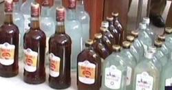 دھیرکوٹ، پولیس کی کارروائی، 84 بوتل شراب برآمد ،ملزم گرفتار