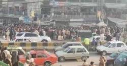 بھارہ کہو میں تین افراد کا قتل:جے یو آئی کا میتوں کے ہمراہ مری روڈ پر دھرنا
