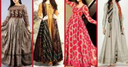لمبی فراکس اور رنگ برنگے کُرتے - خواتین کے ملبوسات
