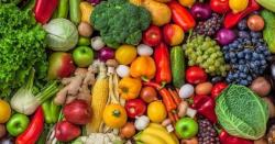روزانہ دومرتبہ پھل، تین مرتبہ سبزیاں کھائیے، بیماریاں بھگائیے!
